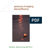 29423287 My Experience of Keeping Silence Mowna PDF