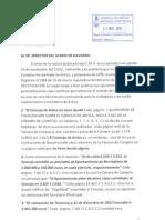 Al Sr. Director Diario de Navarra