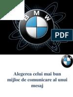 BMW - studiu de caz campanie publicitara