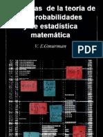 problemas de teoria de probabilidades y estadistica matematica parte 1, v