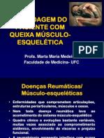 Abordagem do Paciente com Queixa Musculoesquelética