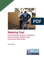 ACLU Maryland Report