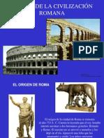 Claves civilización romana