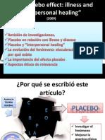 Presnetación efecto placebo en psicologia