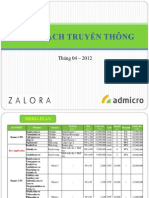 Admicro Proposal Zalora 03.2012