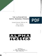 Alpha-Netics Speed Reading Course