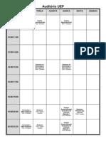 Distribuição de salas 2013-2