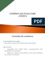 8 Comisia de Evaluare 2009