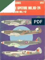Osprey Aircam Aviation Series 08 - Supermarine Spitfire Mk.XII-24 Supermarine Seafire Mk.i-47