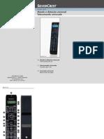 Silvercrest Sfb 10.1 a1 10-In-1 Remote Control User Guide