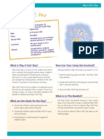 PiF Day Guide