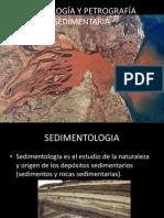 PETROLOGÍA Y PETROGRAFÍA SEDIMENTARIA