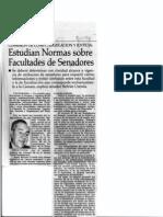Beltran Urenda Facultades Senado