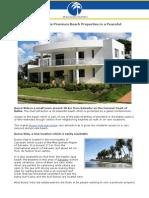 Busca Vida Real Estate Premium Beach Properties in a Peaceful Locality