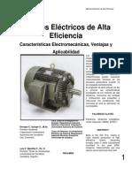 Motores Electricos de Alta Eficiencia