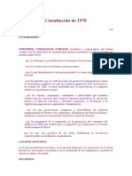 Constitucion de 1976