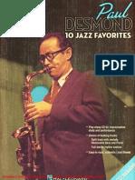 Jazz Play-Along Vol.75 - Paul Desmond