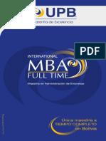 Brochure MBA Digital 2014