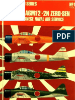 Osprey Aircam Aviation Series 16 - Mitsubishi A6M1-2-2N Zero-Sen in Imperial Japanese Naval Air Service
