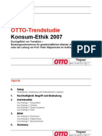 4 Otto Group Trendstudie 2007 Konsum Ethik 2007 LV