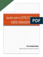 Apuntes Estructura y Diseño E Gallardo
