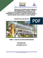 Informe Hidrosanitarios Casa de Justicia Terminado