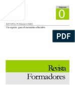 Revista Formadores Volumen 00