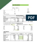 Vertical Raw Mill Heat Balance - Solution