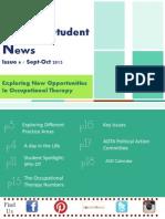 The AOTA Assembly of Student Delegates Newsletter.
