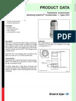 Piezoelectric Accelerometer Monitoring DeltaTronÆ Accelerometer ó Types 8341