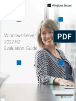 Windows Server 2012 R2 Evaluation Guide