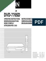 Denonb Dvd 7701