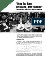 Mao Tse Tung, Revolución, Arte y Cultura