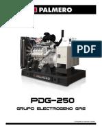 Grupo Electrogeno PDG-250 - 50 Hz - Rev 12-4 (O&G)