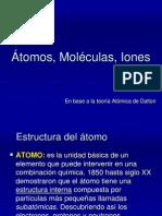 Átomos, moléculas e iones