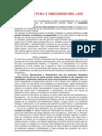Corrientes Arquitectura y Urbanismo XX