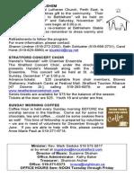 Knox Sunday, November 24, 2013 Bulletin