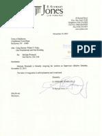 M Wormuth Resignation