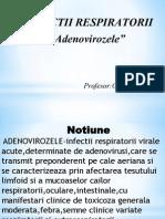 adenovirozele prezentare
