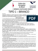 prova oab 2010.3