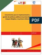 IIN Lineamientos políticas públicas proteccion de NNA  ABR 13
