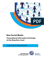 New Social Media: Transnational Information Exchange at the Shop-floor Level