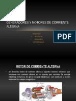 Generadores y Motores de Corriente Alterna
