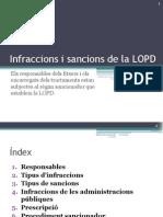 Infraccions i Sancions de La LOPD