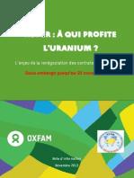 Niger Renegociations Areva Note Oxfam-Embargo