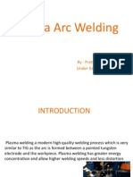 ppt on plasma arc welding