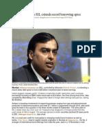 Mukesh Ambani's RIL extends record borrowing spree