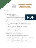 Examen Segunda Evaluacion de Matematicas