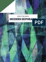 Emily Bilman - Modern Ekphrasis
