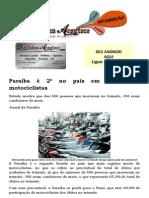 Paraíba é 2º no país em mortes de motociclistas